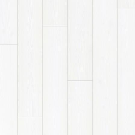 Ламинат влагостойкий Quick-Step IM1859 IMPRESSIVE БЕЛОСНЕЖНЫЙ 32 класс