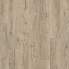 Ламинат влагостойкий Quick-Step IMPRESSIVE Дуб серо-бежевый  IM4663, однополосный