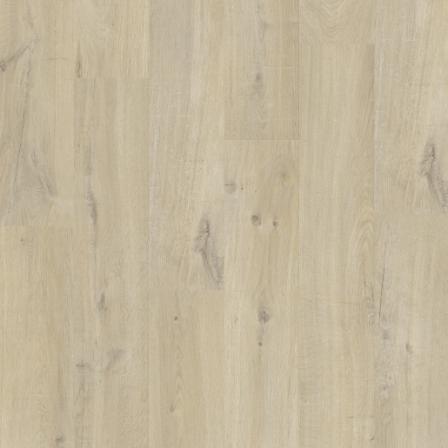 Виниловая плитка Quick-Step AVMP40103 Alpha Vinyl Medium Planks Дуб хлопковый бежевый, 1-о полосный