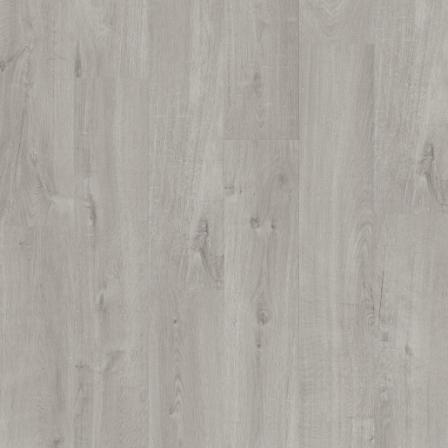 Виниловая плитка Quick-Step AVMP40201 Alpha Vinyl Medium Planks Дуб хлопковый светло-серый, 1-о полосный