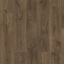 Виниловая плитка Quick-Step BACP40027 BALANCE CLICK PLUS Дуб коттедж темно-коричневый